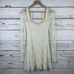 Free People Flirt for You Lace Dress